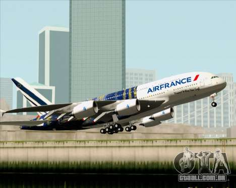 Airbus A380-800 Air France para GTA San Andreas