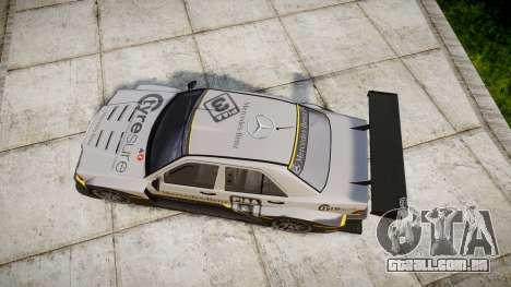 Mercedes-Benz 190E Evo II GT3 PJ 4 para GTA 4 vista direita