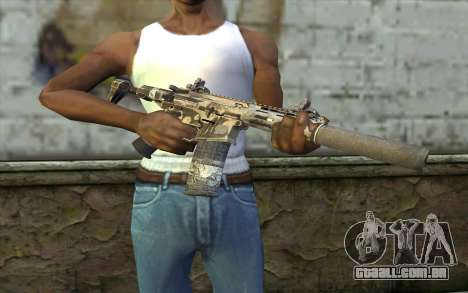 HoneyBadger from CoD Ghosts para GTA San Andreas terceira tela