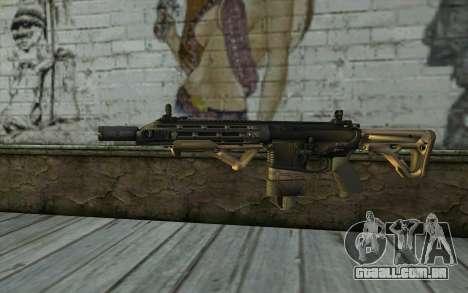 SIG-556 para GTA San Andreas