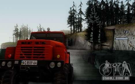 Pista de off-road 3.0 para GTA San Andreas quinto tela