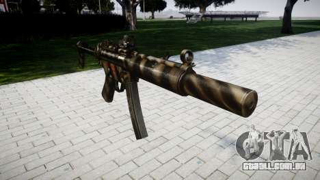 Arma MP5SD DRS FS para GTA 4