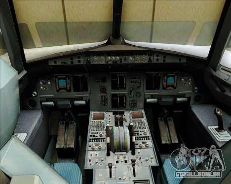 Airbus A320-200 Zest Air para GTA San Andreas interior