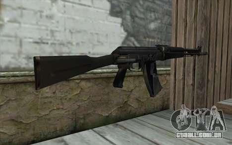 АК-107 de S.T.A.L.K.E.R para GTA San Andreas segunda tela