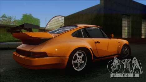 Porsche 911 Turbo 1982 Tunable KIT C PJ para GTA San Andreas vista traseira