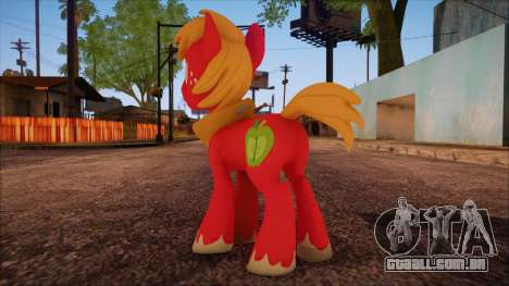 Big Macintosh from My Little Pony para GTA San Andreas segunda tela