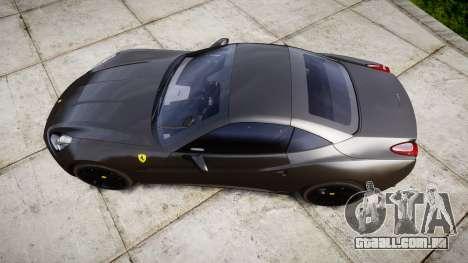 Ferrari California [EPM] v1.5 para GTA 4 vista direita