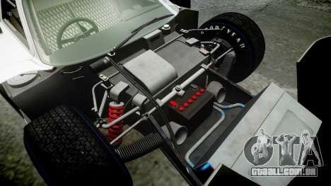 Ford GT40 Mark IV 1967 PJ 1 para GTA 4 vista superior