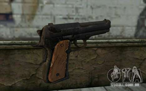 Colt From Into The Dead para GTA San Andreas segunda tela