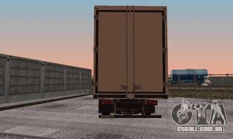 Iveco EuroTech para GTA San Andreas vista direita