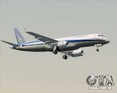 Embraer E-190-200LR House Livery para GTA San Andreas vista superior