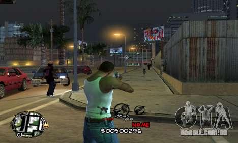 C-HUD by Jackson para GTA San Andreas