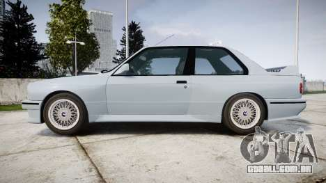 BMW M3 E30 1991 [EPM] para GTA 4 esquerda vista