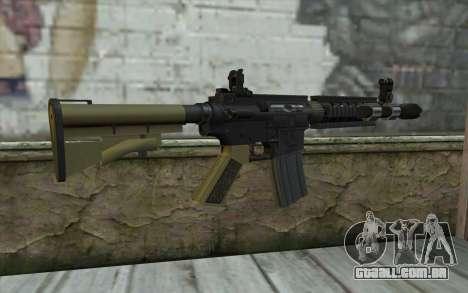 M4 MGS Iron Sight v1 para GTA San Andreas segunda tela