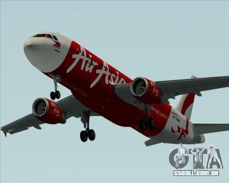 Airbus A320-200 Air Asia Philippines para o motor de GTA San Andreas