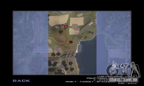 Pista de off-road 3.0 para GTA San Andreas décimo tela