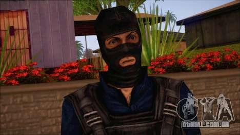 Terror from Counter Strike Condition Zero para GTA San Andreas terceira tela