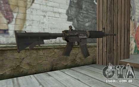 M4 de Sniper-Guerreiro Fantasma para GTA San Andreas segunda tela
