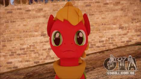 Big Macintosh from My Little Pony para GTA San Andreas terceira tela