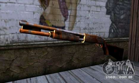 Chromegun v2 Enferrujado para GTA San Andreas