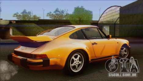 Porsche 911 Turbo 1982 Tunable KIT C PJ para GTA San Andreas esquerda vista