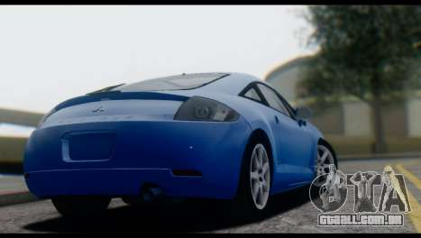 Mitsubishi Eclipse 2006 para GTA San Andreas vista traseira
