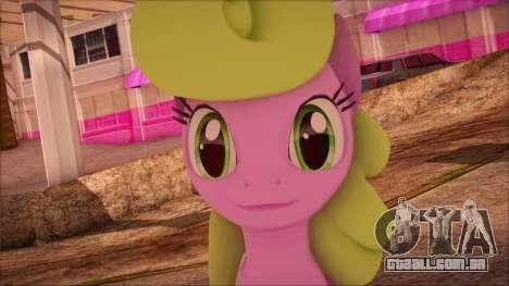 Daisy from My Little Pony para GTA San Andreas terceira tela
