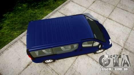 Renault Trafic Passenger para GTA 4 vista direita