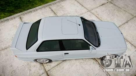 BMW M3 E30 1991 [EPM] para GTA 4 vista direita