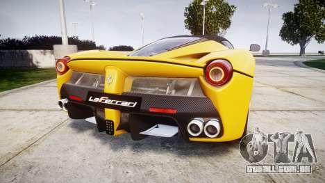 Ferrari LaFerrari [EPM] v1.2 para GTA 4 traseira esquerda vista