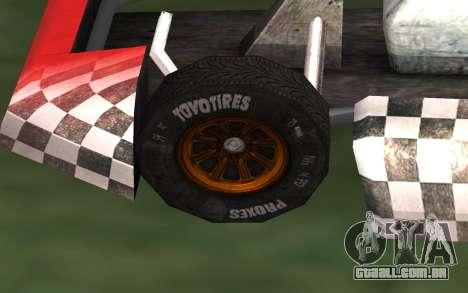 Atualizado Kart para GTA San Andreas para GTA San Andreas vista direita