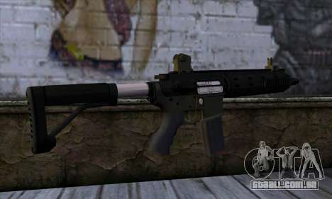 Carbine Rifle from GTA 5 v2 para GTA San Andreas segunda tela