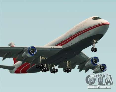 Boeing 747-100 Trans World Airlines (TWA) para o motor de GTA San Andreas