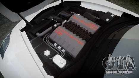 Chevrolet Corvette C7 Stingray 2014 v2.0 TireYA1 para GTA 4 vista lateral