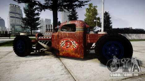 Dumont Type 47 Rat Rod PJ2 para GTA 4 esquerda vista
