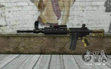 M4 MGS Aimpoint v1 para GTA San Andreas