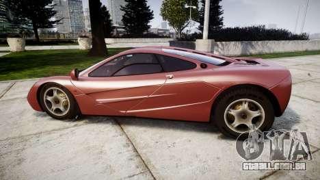 Mclaren F1 1993 [EPM] para GTA 4 esquerda vista