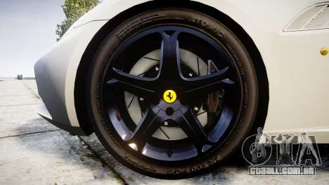 Ferrari California [EPM] v1.5 para GTA 4 vista de volta