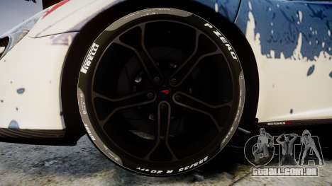 McLaren 650S Spider 2014 [EPM] v2.0 UK para GTA 4 vista de volta