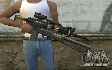 M4 MGS Aimpoint v3 para GTA San Andreas terceira tela