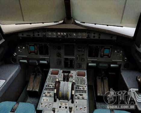Airbus A320-200 Air Asia Philippines para GTA San Andreas interior