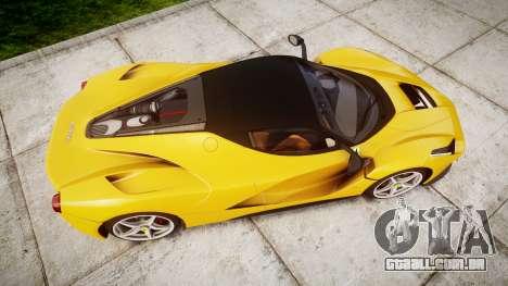 Ferrari LaFerrari [EPM] v1.2 para GTA 4 vista direita