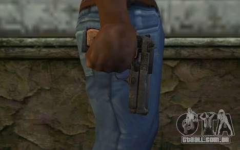 Colt From Into The Dead para GTA San Andreas terceira tela