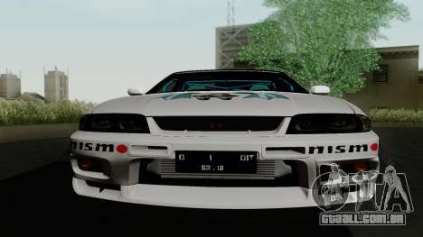 Nissan Skyline GT-R33 para GTA San Andreas vista superior