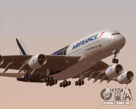 Airbus A380-800 Air France para o motor de GTA San Andreas