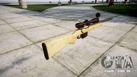 Sniper rifle com o HQ texturas para GTA 4 segundo screenshot