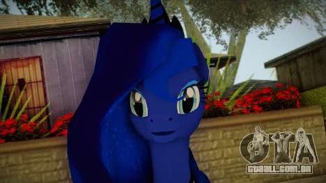 Luna from My Little Pony para GTA San Andreas terceira tela