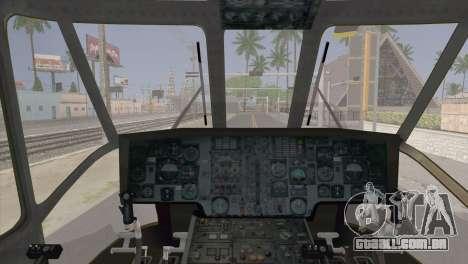 Helicopter Nuri Malaysia Mod (Seaking) para GTA San Andreas vista direita