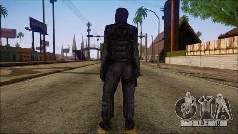 SAS from Counter Strike Condition Zero para GTA San Andreas segunda tela