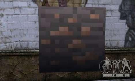 Bloco (Minecraft) v7 para GTA San Andreas